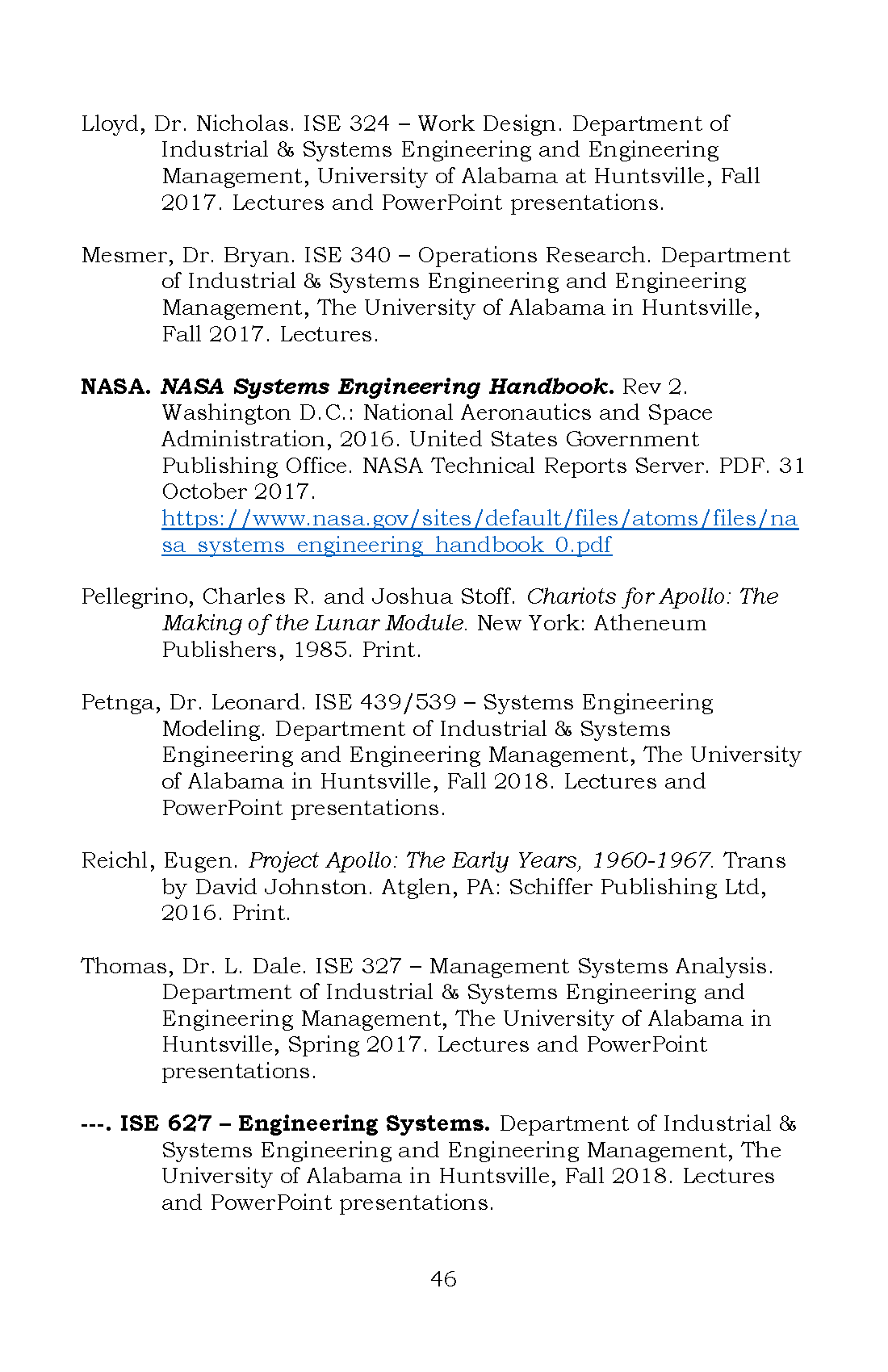 Integrated A Student S Guide To Systems Engineering Honors Capstones Projects And Theses Uah Digital Projects